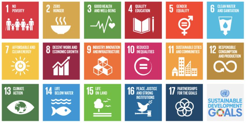 17 Sustainable Development Goals