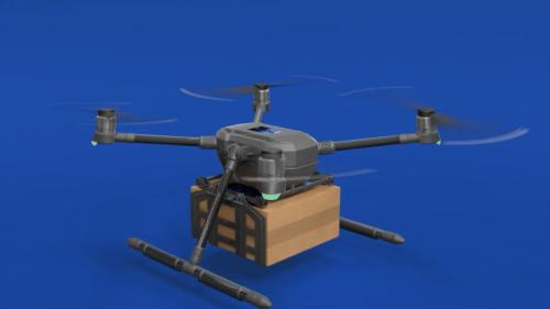 Drone Animation Still